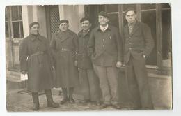 Carte Photo Située Au Dos A Déchiffrer Militaire 1939 - 2 Scans - Cartes Postales