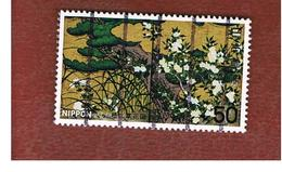 GIAPPONE  (JAPAN) - SG 1480 -   1977  NATIONAL TREASURES: CHISHAKUIN CASTLE  - USED° - 1926-89 Imperatore Hirohito (Periodo Showa)