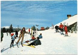 ST-CERGUE Cuvaloup Restaurant Ski Pistenraupe Ratrac - VD Vaud