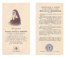 Relique Parcelle Des Vêtements De La Bienheureuse Bernadette Soubirous, Ex Indumentis, Lourdes, Nevers - Devotion Images