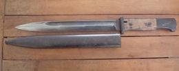 Baïonnette Allemande Mauser 98K - 1936 Au N°. - Knives/Swords