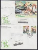 2005-FDC-78 CUBA FDC 2005. REGISTERED COVER TO SPAIN. HONGOS Y POLIMITAS, HONGOS, FUNGUS, MUSHROOMS. - FDC