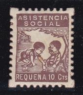 Republican Local Stamps REQUENA - Viñetas De La Guerra Civil