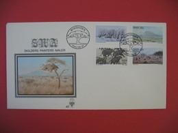 Enveloppe 1983 Afrique Du Sud Ouest - Skilders-Painters-Maler - Afrique Du Sud-Ouest (1923-1990)
