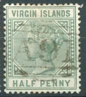 Iles Vierges - 1883/184 - Yt 12 - Victoria - Oblitéré - Iles Vièrges Britanniques