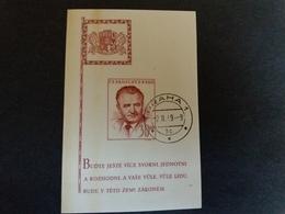 Tchécoslovaquie > Blocs-feuillets N° 12 - Blocs-feuillets