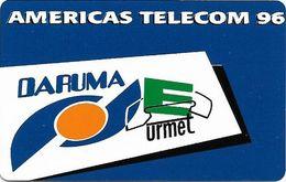 Brazil - Americas Telecom 1996 - Daruma - Inductive - 10U, Mint Or Used;; - Brazil