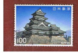 GIAPPONE  (JAPAN) - SG 1472   -   1977 NATIONAL TREASURES: MATSUMOTO CASTLE - USED° - 1926-89 Imperatore Hirohito (Periodo Showa)