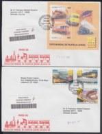 2006-FDC-116 CUBA FDC 2006. REGISTERED COVER TO SPAIN. PHILATELIC EXPO BELGIUM, RAILROAD, FERROCARRIL, RAILWAYS. - FDC