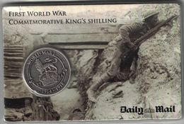 British Kings Shilling Commemorative Token - United Kingdom