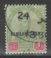 Johore - YT 20 Oblitéré - 1896 - Johore