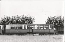 Carte Photo - Thème Train - Remorque Type BAB - N°  C4  -Aout 1951 - Trains