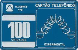 Brazil - Telebras Experimental Test 100U - Inductive, Used - Brazil