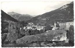 Cpsm Colmars Les Alpes - Vue D'ensemble En Direction Du Col D'Allos - France