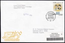 2006-FDC-120 CUBA FDC 2006. REGISTERED COVER TO SPAIN. 20 ANIV BRIGADAS DE ASOCIACION HERMANOS SAIZ. - FDC