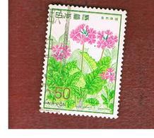 GIAPPONE  (JAPAN) - SG 1490   -   1978 FLOWERS: PRIMULA SIEBOLDI - USED° - 1926-89 Imperatore Hirohito (Periodo Showa)