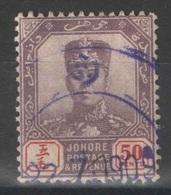 Johore - YT 51 Oblitéré - 1904-12 - Johore