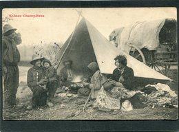 CPA - Scènes Champêtres - Campement De Bohémiens, Animé - Agriculture