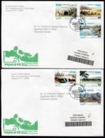 2006-FDC-121 CUBA FDC 2006. REGISTERED COVER TO SPAIN. ESPAÑA MALAGA PHILATELIC EXPO, TRINIDAD, GRAN PIEDRA - FDC