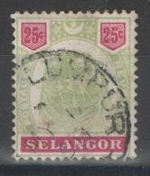 Selangor - YT 17 Oblitéré - 1895 - Selangor