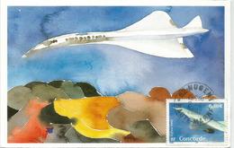 FRANCE, Le Supersonique Concorde, Carte-maximum - 1946-....: Modern Era