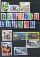 MAYOTTE Année 1997 Compléte 22 T Neufs Xx 1997 - N°YT 32 à 51 PA 1 Et 2 - Mayotte (1892-2011)