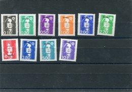 MAYOTTE MARIANNE DE BRIAT 10 T Xx Série Compléte 1997 - N°YT 32 à 41 - Mayotte (1892-2011)