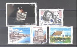 France Oblitérés : Sophie Calle - Périgueux - Maisons De Méditerranée & N° 5219 (cachet Rond) - France