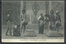 """+++ CPA - Exposition """" Les Indes """" - HAGENBECK - Charleroi   // - Expositions"""