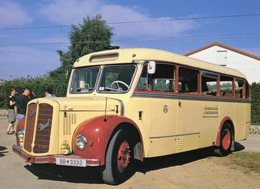 Autobus Saurer In Ober Grafendorf (Autriche) 2007  -  CPM - Bus & Autocars