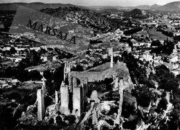 CPSM  Tourves  Les Ruines  Du Chateau De Valbelle - France