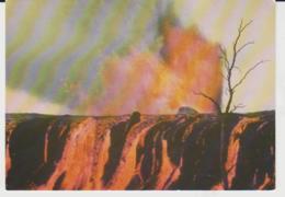 Postcard - Volcanoes - Kilauea, Hawaii 1969, Fire Fountains Card No....cp124 - Unused Very Good - Postcards