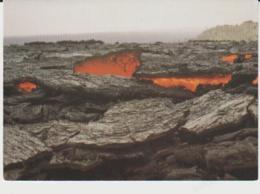 Postcard - Volcanoes - Kilauea, Hawaii 1973 Lava Lake Surface, Mauna Ulu Card No....cp125 - Unused Very Good - Postcards