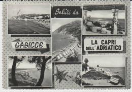 Postcard - Gabicce - La Capri Dell Adriatico - Posted 3rd Sept 1957 Very Good - Postcards