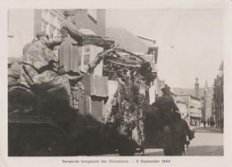 FOTO MET ALS ONDERSCHRIFT: DE VERWARDE TERUGTOCHT DER DUITSCHERS -  3 September 1944 - 1939-45