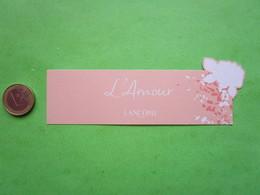 LANCOME - L'amour  - Carte Parfumée - Perfume Cards