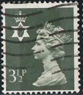 GB 1974 Yv. N°712 - 3p1/2 Violet - Oblitéré - Emissions Régionales
