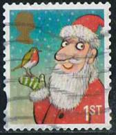 GB 2012 Yv. N°3774 - Père Noël Et Rossignol - Oblitéré - 1952-.... (Elizabeth II)