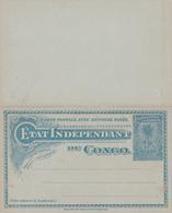 Entier Postal Stationery - Congo-Belge/ Belgische Congo - Double Avec Réponse Payée - Entiers Postaux