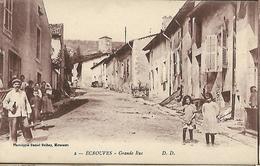 54. ECROUVES. La Grande Rue - France