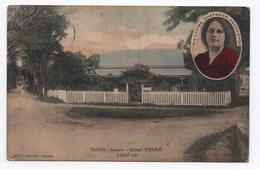 PAPEETE (TAHITI) - Mrs LOVINA CHAPMANN PROPRIETOR - HOTEL TIARE - Tahiti