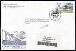 2006-FDC-138 CUBA FDC 2006. REGISTERED COVER TO SPAIN. 30 ANIV FONDO OPEP PARA EL DESARROLLO, THE FUND, - FDC