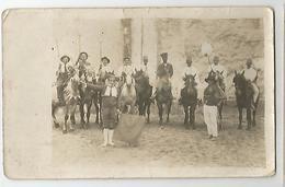 13 Arles Ou Environs Camargue Gardians Et Marocains Carte Photo - Cartes Postales