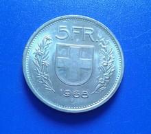 5 FRANCS SUISSE 1968 B (B837) - Suisse