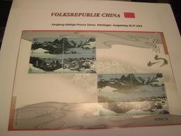China VR Volksrepublik 34 Verschiedene KLEINBOGEN Postfrisch MNH (1417) - 1949 - ... Volksrepublik