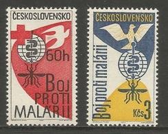 "Czechoslovakia 1962 - ""Fight Against Malaria"" - MNH ** Complete Set - Tchécoslovaquie"