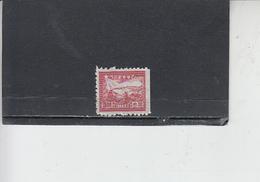 CINA ORIENTALE  1949 -  Yvert  14 (non Dentellato A Destra) - Treno - Western-China 1949-50