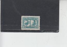 CINA ORIENTALE  1949 -  Yvert  37  - Shangay - Western-China 1949-50