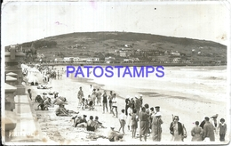 107680 URUGUAY PIRIAPOLIS DTO MALDONADO VIEW BEACH PLAYA SPOTTED POSTAL POSTCARD - Uruguay