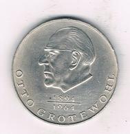 20 MARK 1973 A  DDR  DUITSLAND /1442/ - [ 6] 1949-1990 : RDA - Rép. Démo. Allemande